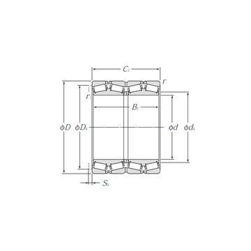 EE170950/171450 Конические роликовые подшипники