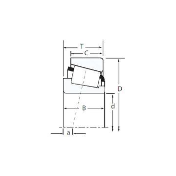 HM89446/HM89411 Конические роликовые подшипники