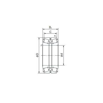 HM 89446/2/410/2/QCL7C Конические роликовые подшипники
